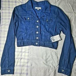 L.E.I Denim Blue Jean Jacket